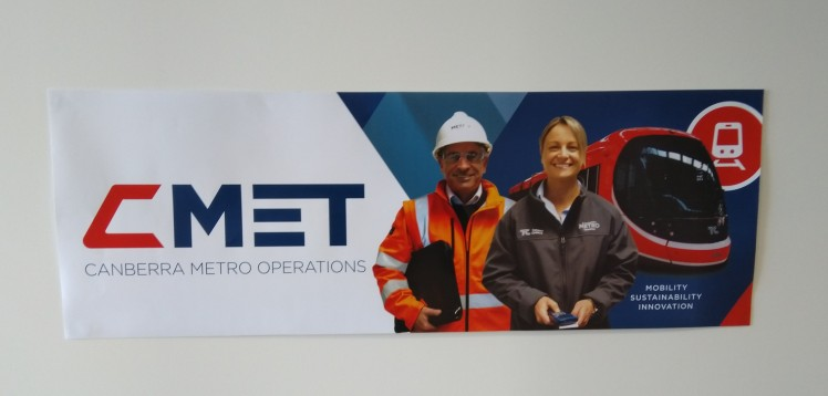 Canberra Metro operations are rebranding to CMET