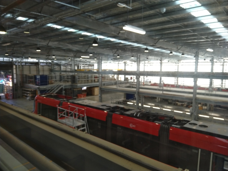 The light rail workshop